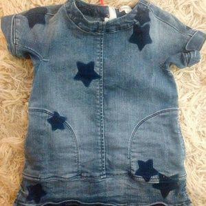 Crewcuts denim star dress